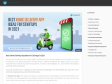Best Home Delivery App Ideas For Startups In 2021