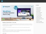 WordPress is Perfect Solution – Here is why