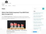 Real Estate Investment Trusts – Reits Investments