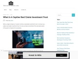 What Is A Captive Real Estate Investment Trust