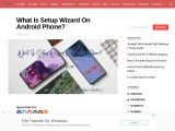 setup wizard on android phones