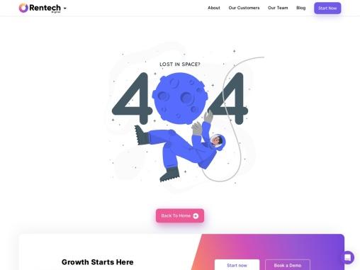 Web Design and Development Company | Rentech Digital