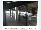What Is The Difference Between An Insect Screen And Security Screens Doors?
