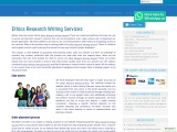 Ethics Research Writing Services