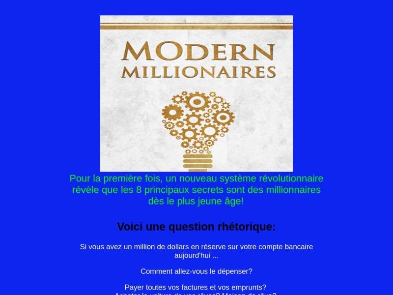 millionnaires modernes