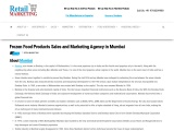 Frozen Food Products Sales and Marketing Agency in Mumbai