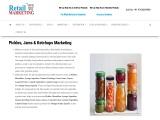 pickles jams ketchups marketing
