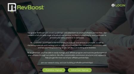 RevBoost Website Preview