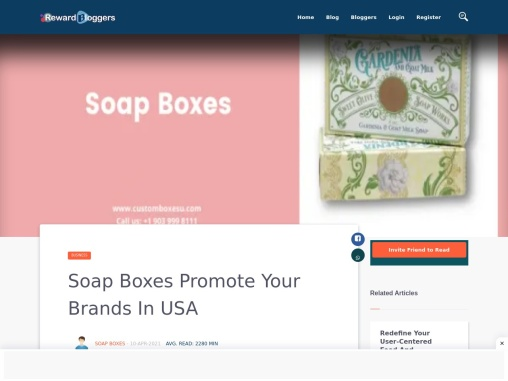 Custom Soap Boxes with quality printing designs in USA