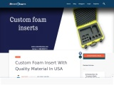 Foam inserts for boxes available in all Sizes & Shapes USA