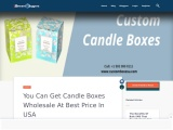 Buy candle box packaging with free Shipping in USA