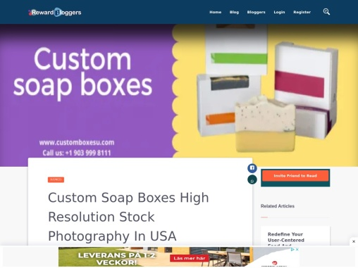 Soap packaging with quality printing designs in USA
