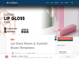 Lip gloss boxes at wholesale prices in USA