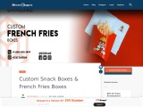 French fries boxes with cheap prices available in USA