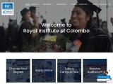 Degree Programs in Sri Lanka by Royal Institute Colombo