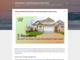 3 Reasons Why Sell Your House To Cash Home Buyers In New Jersey