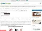 Best personalsied pet accessories products online India