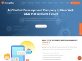 AI Chatbot Development Company in New York, USA that Delivers Future