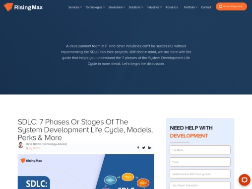 SDLC: 7 Phases or Stages of the System Development Life Cycle, Models, Perks & More