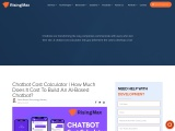 Chatbot Cost Calculator | How Much Does It Cost To Build An AI-Based Chatbot?