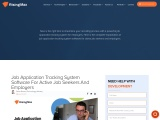 Job Application Tracking System Software for Active Job Seekers and Employers