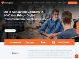 Top-notch IT consulting company in NYC to transform never-seen ideas into a smart solution