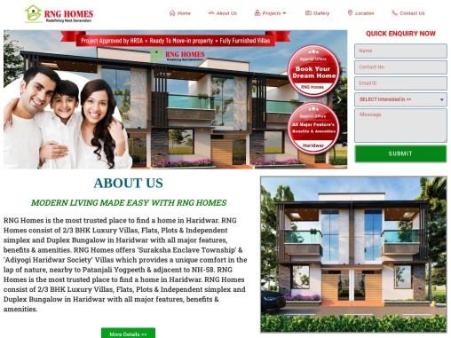 RNG Homes Best Real estate Agent in Haridwar