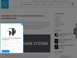 Different Types of Shower – Types of Shower