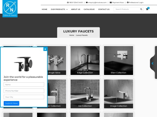 Buy Luxury Faucets Online – Best Faucets in India