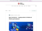 Bytes Technolab Inc. – Stopping solution for Mobile and Website app Development