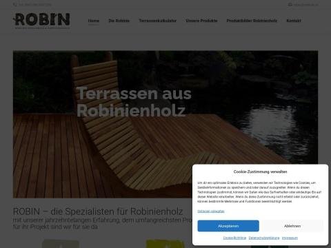 ROBIN – die Spezialisten für Robinienholz