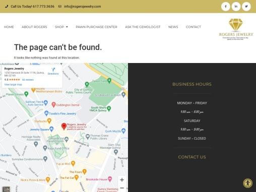 Diamond Jewelry Online- Rogers Jewelry
