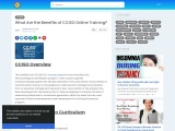 What Are the Benefits of CCISO Online Training?