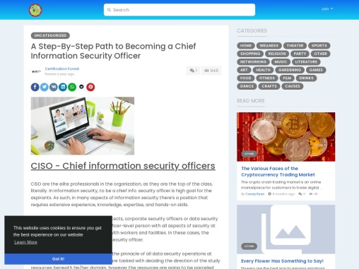 A Step-By-Step Path to Becoming a Chief Information Security Officer