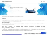 linksyssmartwifi.com : How To Setup linksys smart wi-fi router?