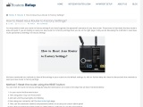 How to Reset ASUS Router ?