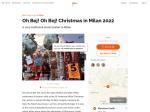 Oh Bej! Oh Bej! Christmas Fair 2018 in Milan – Dates & Map