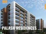Palash Residency – 3BHK Flats in Bopal