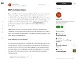 how  Norton  Renew  Issue  accure
