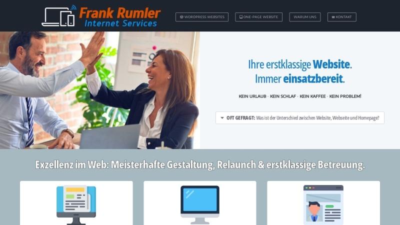 rumler.com Vorschau, Frank Rumler