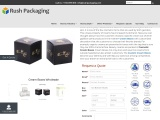 Get your own Custom Printed Cream Boxes at Rush Packaging