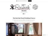 The RusTeak Wood Finishing Process