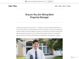 Ensure You Are Hiring Best Property Manager
