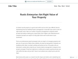 How to Sell Property in Right Value