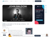 Ladder to the leaders of the new age workplace – John Baldoni [Interview]