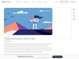 Employee motivation: Ideas and benefits