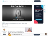 Unbiased recruitment at the workplace – Frida Polli [Interview]