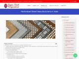 Perforated Sheet Manufacturers in India
