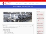 Pipes and Tubes Manufacturer, Supplier, and Dealer in India.