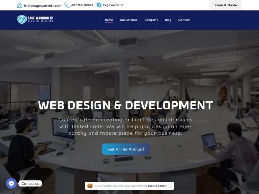 SAGE WARRIOR IT: Web Design, Digital Marketing, SEO Company in Bangladesh